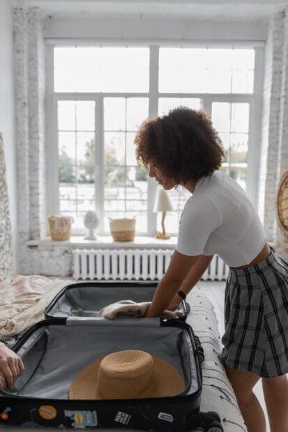 Packa inför familjeresan